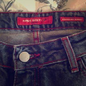 Miss Sixty straight leg jean